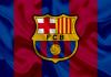 bandeira do time do barcelona