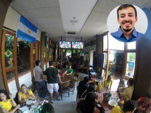 Samuel Andrade indica bares El Tambo