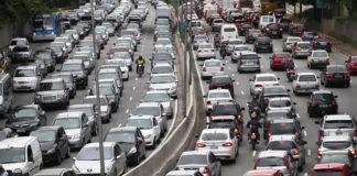 Acidentes no trânsito diminui