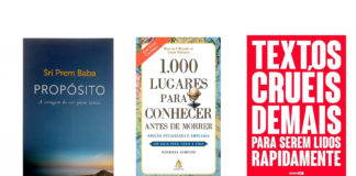 Livros mais vendidos