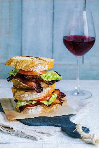 sanduíches que harmonizam com vinho