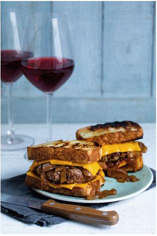 sanduíches que harmonizam com vinhos