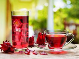 chá e café gelado
