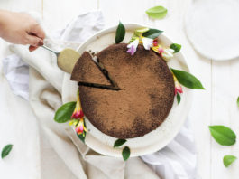 Receita de torta de chocolate