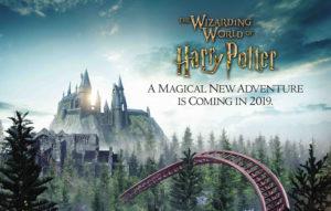 Nova atração do Harry Potter