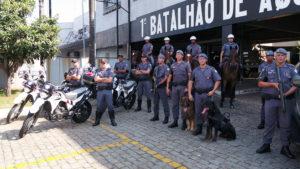 Exposição da Polícia Militar