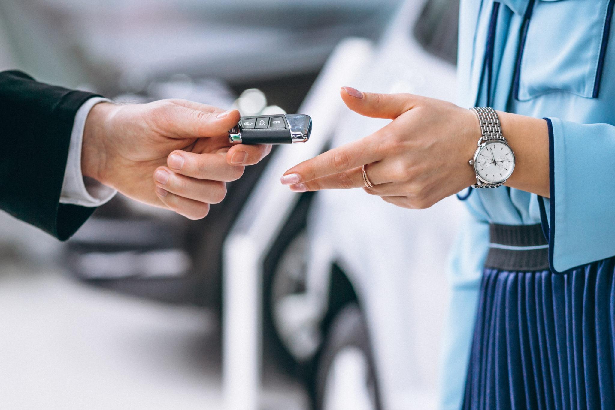 cuidados na troca automóvel