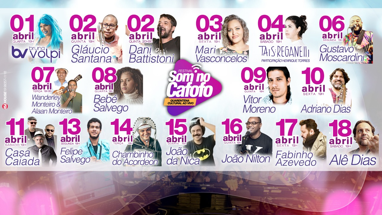 """Festival """"Som no Cafofo"""""""