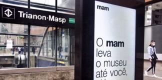 MAM leva obras de seu acervo para as ruas da cidade de São Paulo