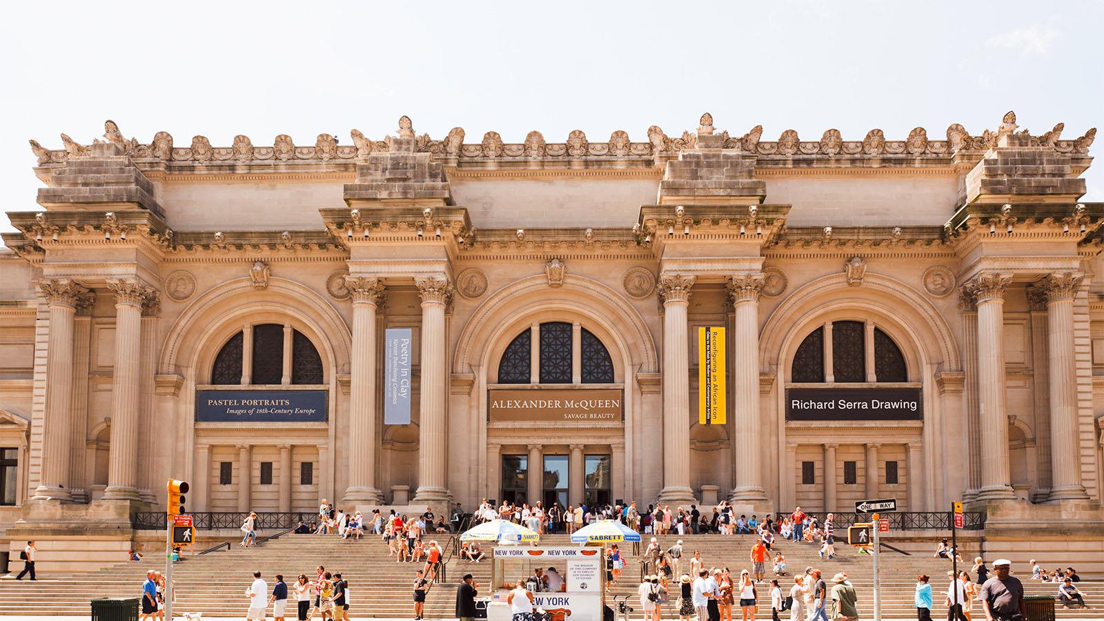 8 Metropolitan Museum of Art Nova York