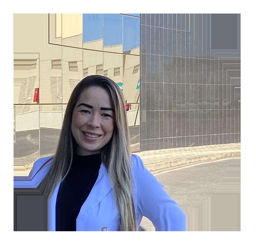 Samantha Nobre psicóloga do Hospital São Francisco de Mogi Guaçu