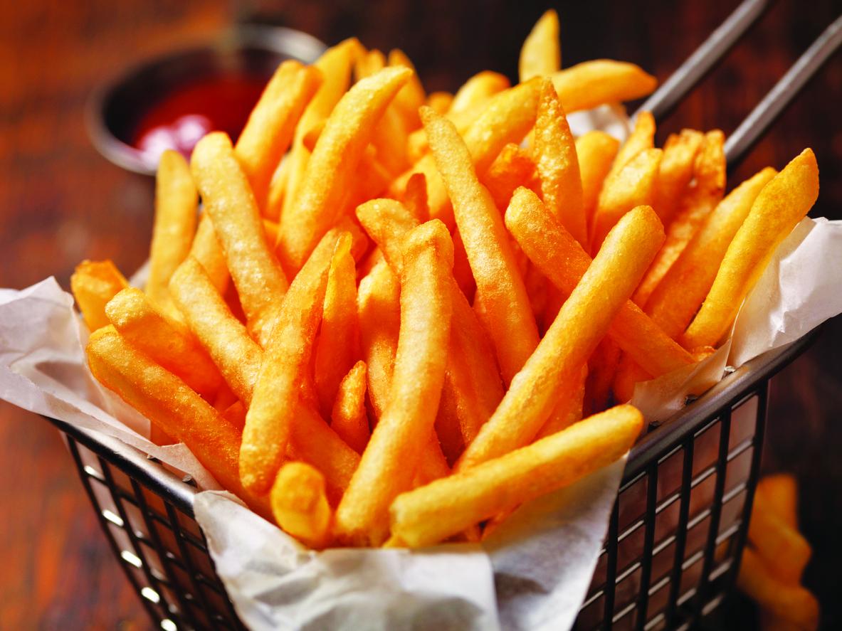 alimentos Inflamatórios - batata frita