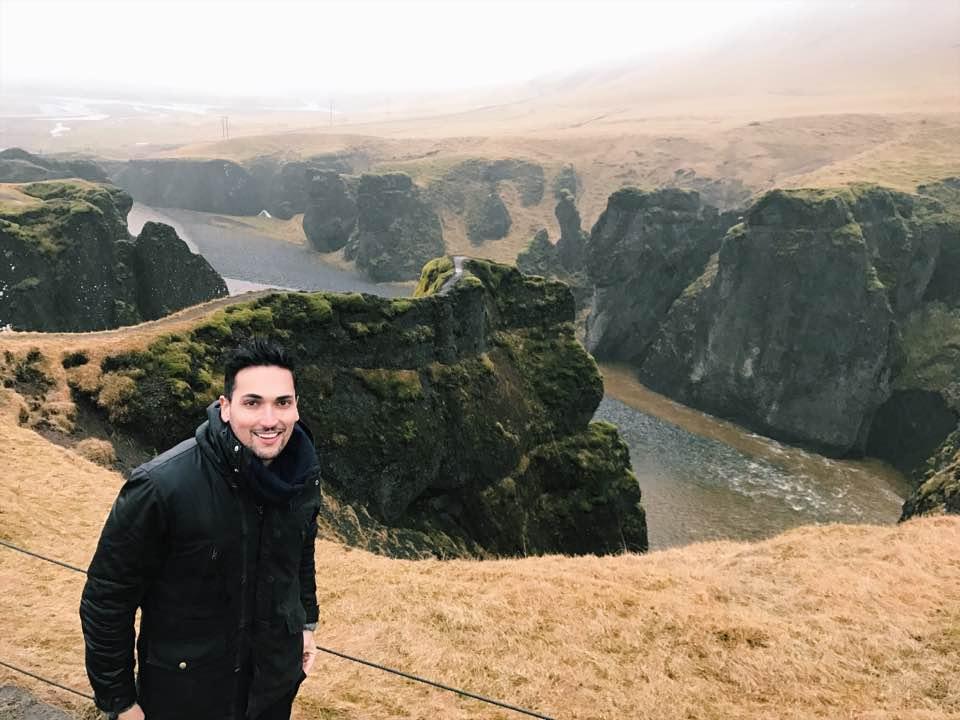 Canyon Fjadrargljufur Iceland